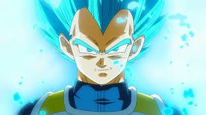 super saiyen bleu